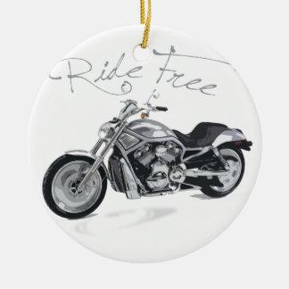 Ride Free Harley Davidson Ornament