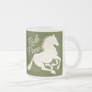 Ride Free mug - choose style & color
