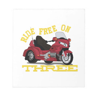 Ride Free Notepad