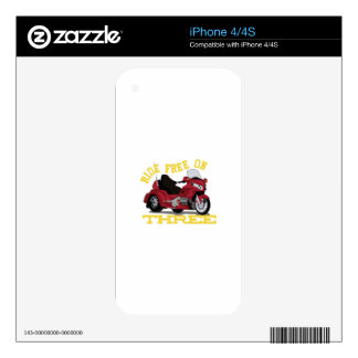 Ride Free Skins For iPhone 4S