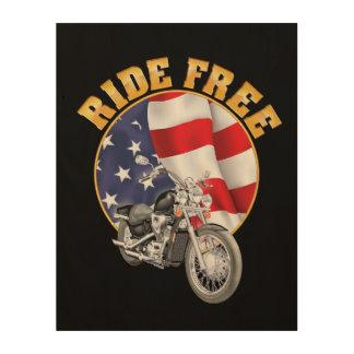 Ride Free Wood Wall Decor