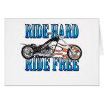 Ride Hard Card