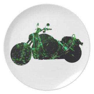 Ride Hard Dinner Plate
