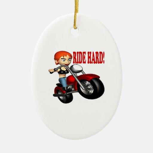Ride Hard Ornament