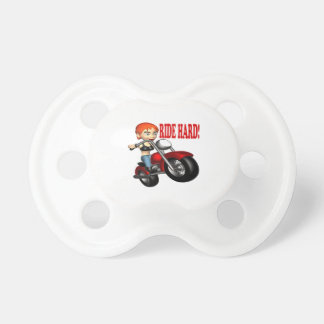 Ride Hard Baby Pacifier