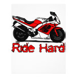 Ride Hard Personalized Flyer