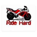 Ride Hard Postcards