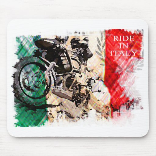 Ride in Italy 1200 Adventure Mouse Mat