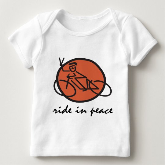 Ride In Peace Baby T-Shirt
