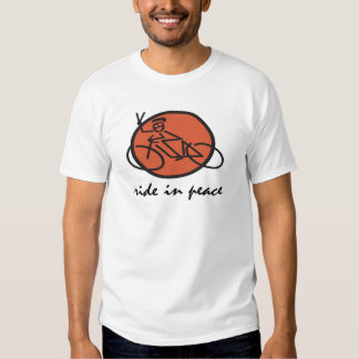 Ride In Peace Tshirt