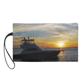 Ride into the sunset wristlet clutch