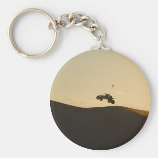 Ride into the Sunset Basic Round Button Keychain