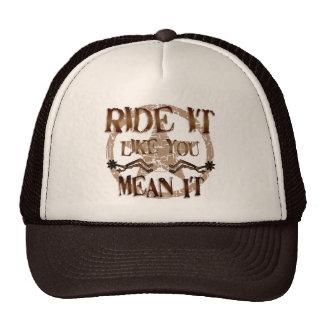 Ride It Hat