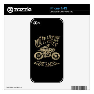 Ride It iPhone 4 Decals