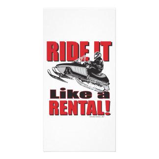 RIDE-IT-LIKE-A-RENTAL-2- Co Custom Photo Card