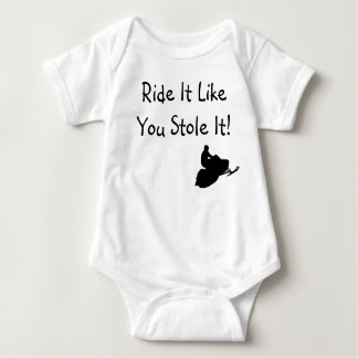 """Ride It Like You Stole It"" Infant Baby Bodysuit"