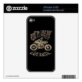 Ride It Skin For The iPhone 4