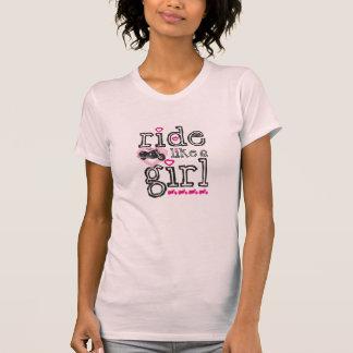Ride Like A Girl - Cruiser T Shirt