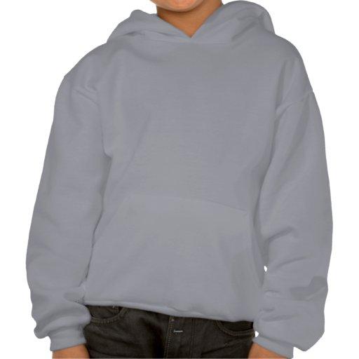 """Ride Like A Girl!"" Grey Youth Sledders.com Hoodie"