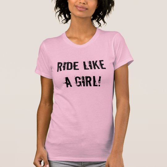 """Ride Like A Girl"" Sledders.com Women's Shirt"
