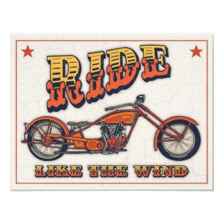 Ride Like the Wind Card