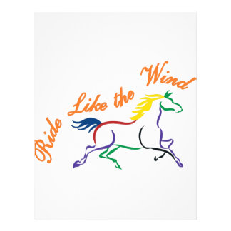 Ride Like the Wind Letterhead