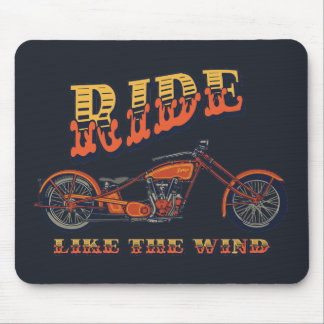 Ride Like the Wind Mouse Pad