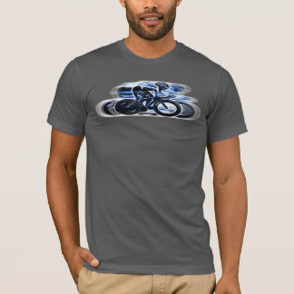 Ride Like The Wind Version 2 - Cyclist's T-Shirt