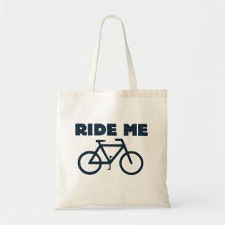 Ride me budget tote bag
