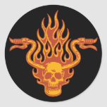 Ride Minded Classic Round Sticker
