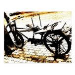 Ride my bike - vintage post card