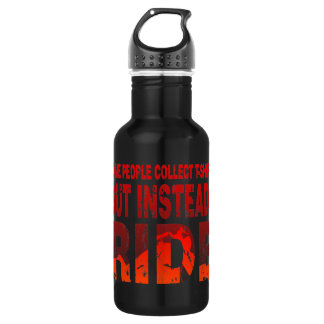 Ride not Collect 18oz Water Bottle