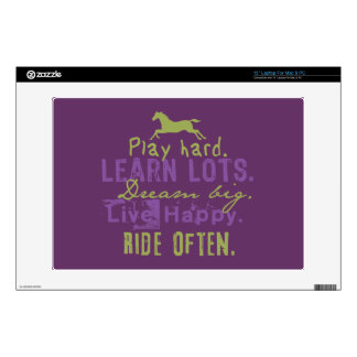 "Ride Often 13"" Laptop Skin"