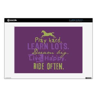 "Ride Often 13"" Laptop Skin"