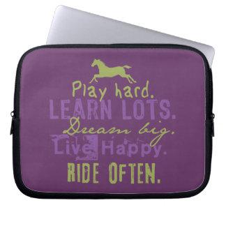 Ride Often Laptop Sleeve