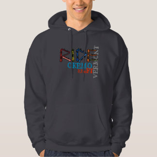 Ride Okemo Vermont boards elevation hoodie