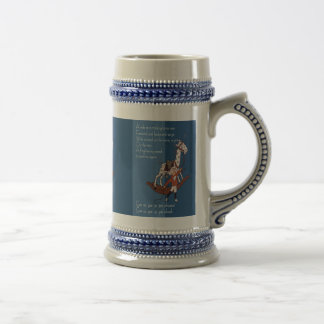 Ride on a Rocking Horse Beer Stein