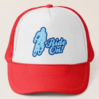 Ride On! (blue) Trucker Hat