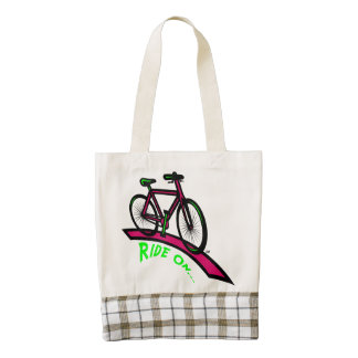 Ride On HEART Tote