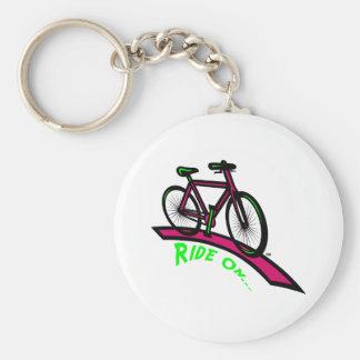 Ride On Keychain