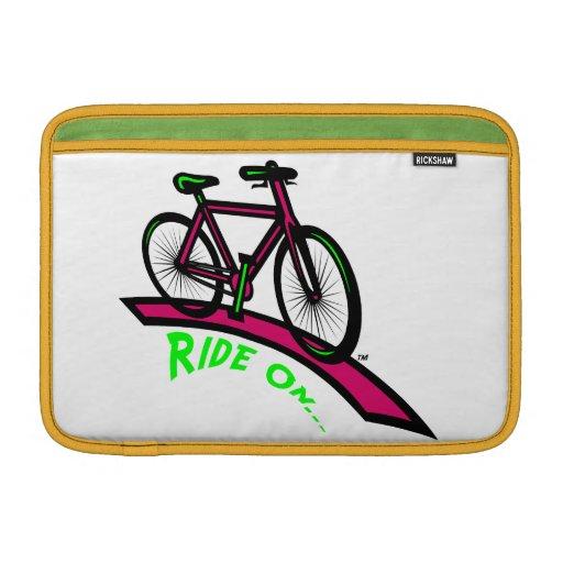 Ride On MacBook Sleeve