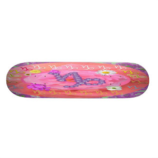 Ride on to Glory BirthStar CAPRICORN Skate Deck