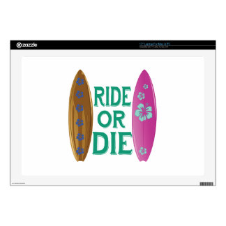 Ride Or Die Decal For Laptop