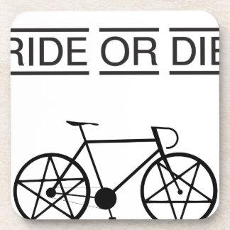 ride or die drink coaster