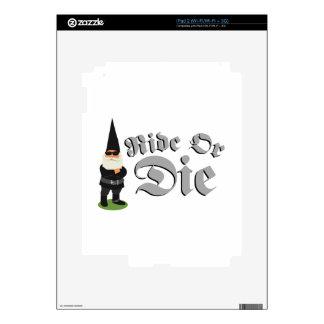 Ride Or Die iPad 2 Decals