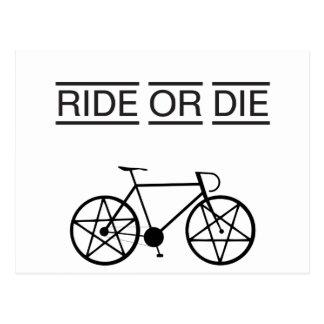 ride or die postcard