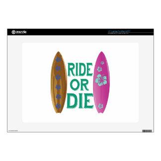 "Ride Or Die Skins For 15"" Laptops"