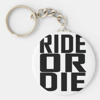Ride or Die T Shirts.png Basic Round Button Keychain