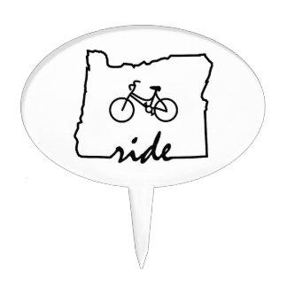 Ride Oregon (Cycling) Cake Topper