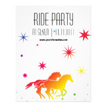 Ride Party Flyer